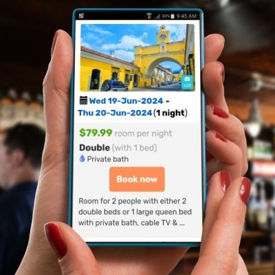 IWBmob hostel booking engine
