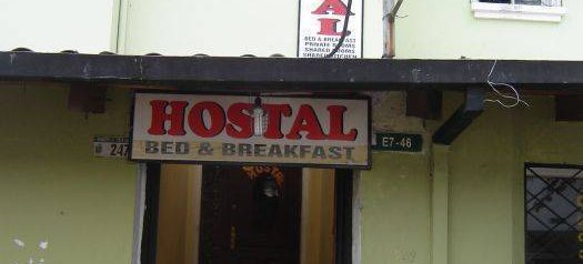 Hostal Sunrise, Quito, Ecuador
