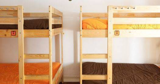 Make cheap reservations at a hostel like Lisboa Central Hostel